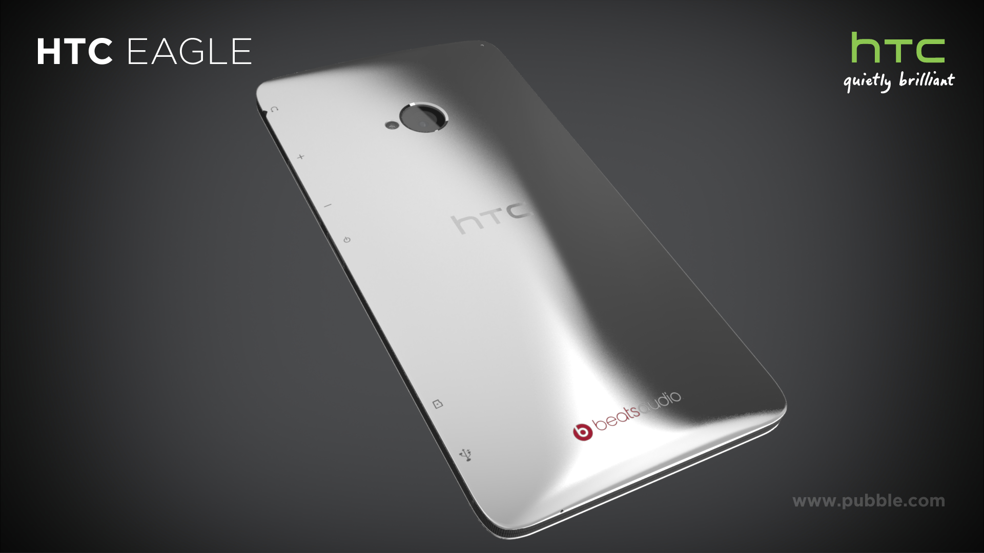 HTC Eagle - Back angle