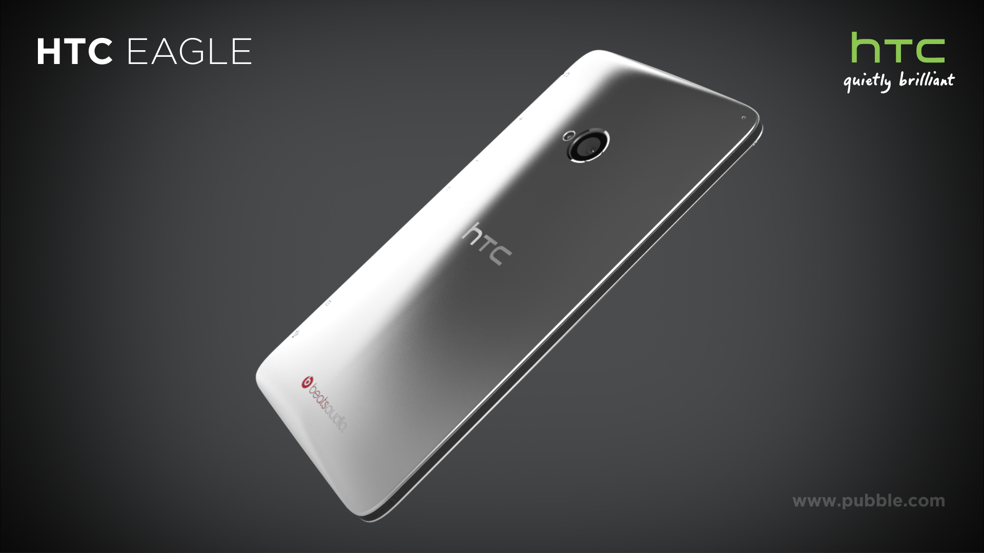 HTC Eagle - Back dynamic