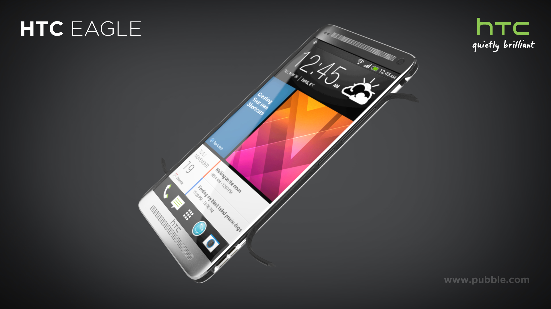 HTC Eagle - Dynamic open