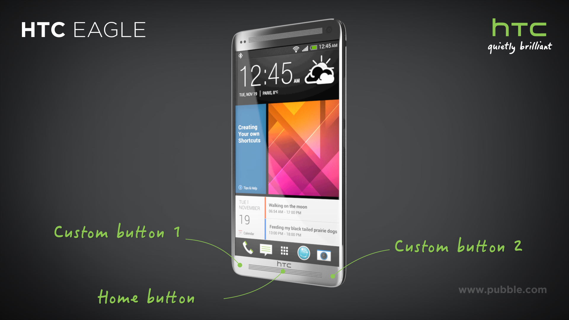 HTC Eagle - Buttons
